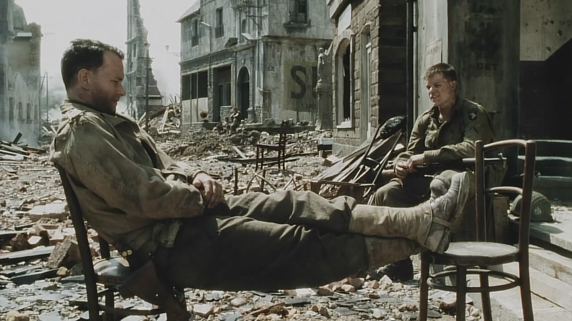 an analysis of the film saving private ryan by steven spielberg The analysis of saving private ryan by steven spielberg analyse he methods used to make the opening sequence of 'saving private ryan' both shocking and realistic, and discuss its effectiveness as an opening to a film.