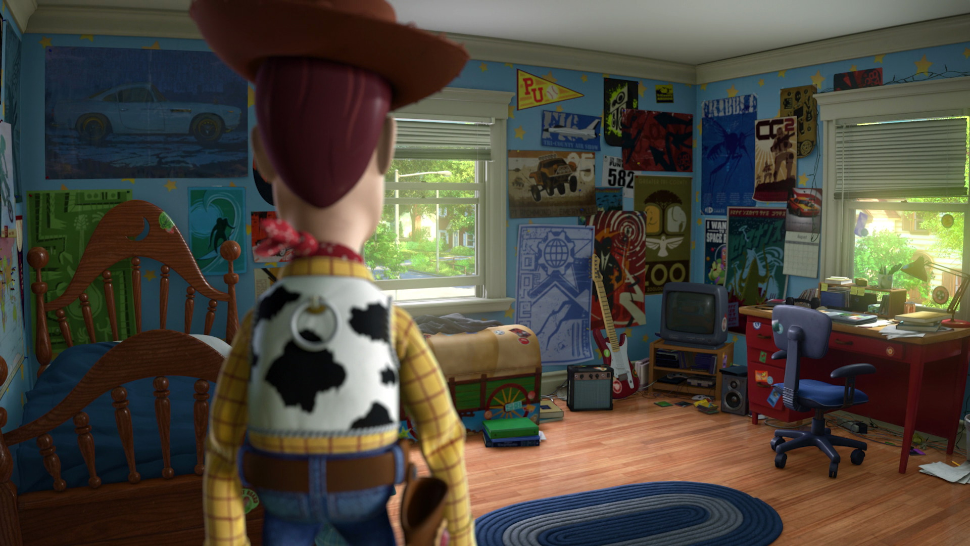 Toy Story 3  Film Study  Color And Lighting  A Dreamer -9643
